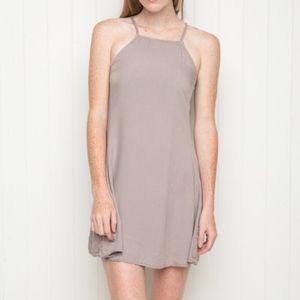 Brandy Melville Abigail Dusty Lavender Dress